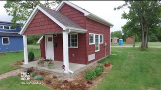 Detroit's tiny houses give residents a home to rebuild their lives