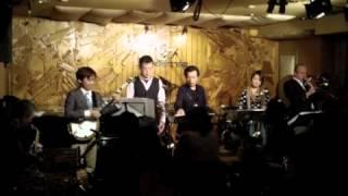 4Trombones unit. Hashiyan Project 橋本佳明、三塚知貴、東條あずさ(T...