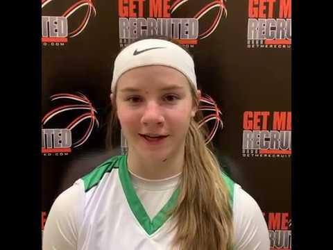 Sophia Jensen (Utah Raiders/Pine View HS/St. George, Utah) 2020 5'3 G