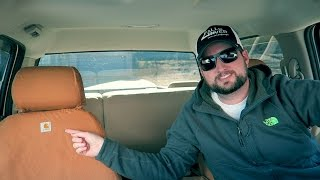 Protecting Your Lawn Care Truck Carhartt Seat Covers Install and Review
