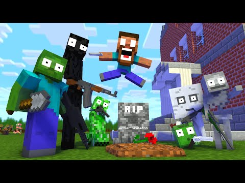 monster-school-:-rip-wither-skeleton-apocalypse---minecraft-animation
