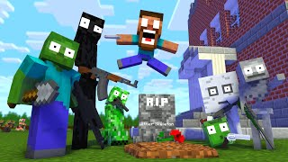 Monster School : RIP Wither Skeleton APOCALYPSE - Minecraft Animation