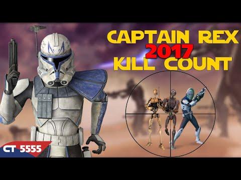 Star Wars Captain Rex Kill Count