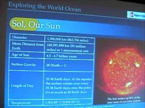 Ocean Physics 10 - Solar Radiation