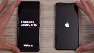 Samsung Galaxy Z Flip vs iPhone 11 Pro Max - Speed Test!