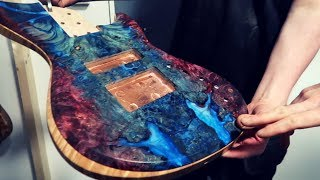 They made a bass from 5500 year old wood?