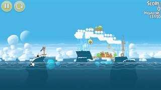Angry Birds Seasons Arctic Eggspedition Level 24  137900