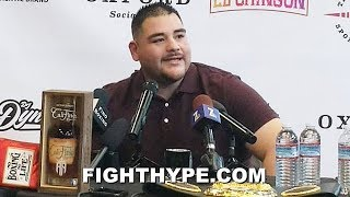 ANDY RUIZ PREDICTS CANELO VS. KOVALEV; ATTENDING FIGHT AND CANELO WILL BE AT JOSHUA REMATCH Video