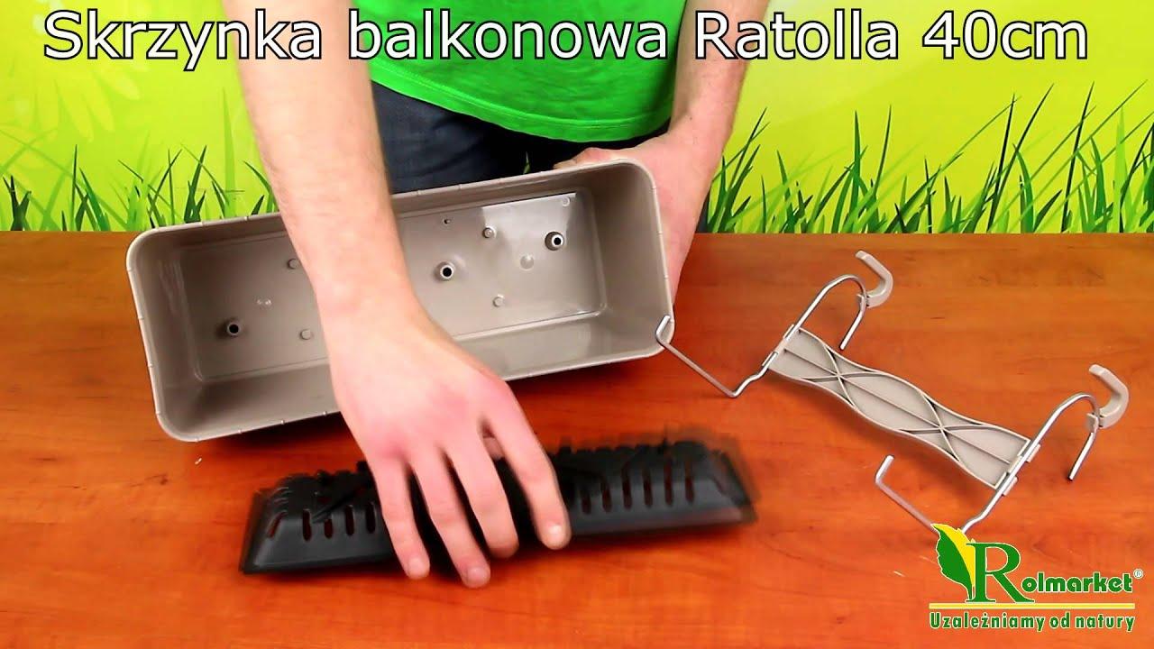 Montaż Skrzynki Balkonowej Ratolla Drl400pw Rolmarketpl