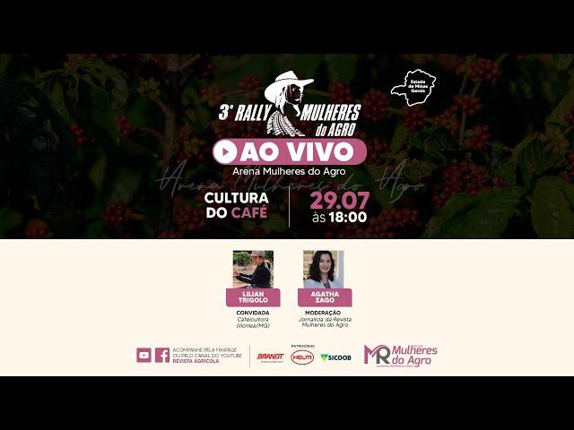 AO VIVO | 3º RALLY MULHERES DO AGRO