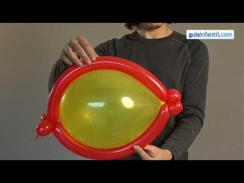 poissons sculpture sur ballon youtube. Black Bedroom Furniture Sets. Home Design Ideas
