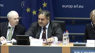 Facebook Cambridge Analytica - European Parliament Hearing 2