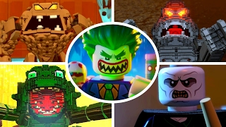 The LEGO Batman Movie - All Boss Fights (LEGO Dimensions)