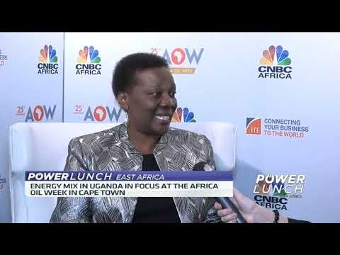 Minister Irene Muloni speaks on Uganda's energy mix and ways to attract foreign direct investment
