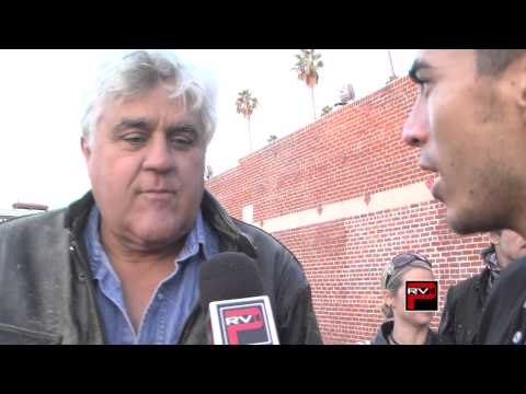 Jay Leno wakes up early for Love Ride 30 - Michael Galante Interviews