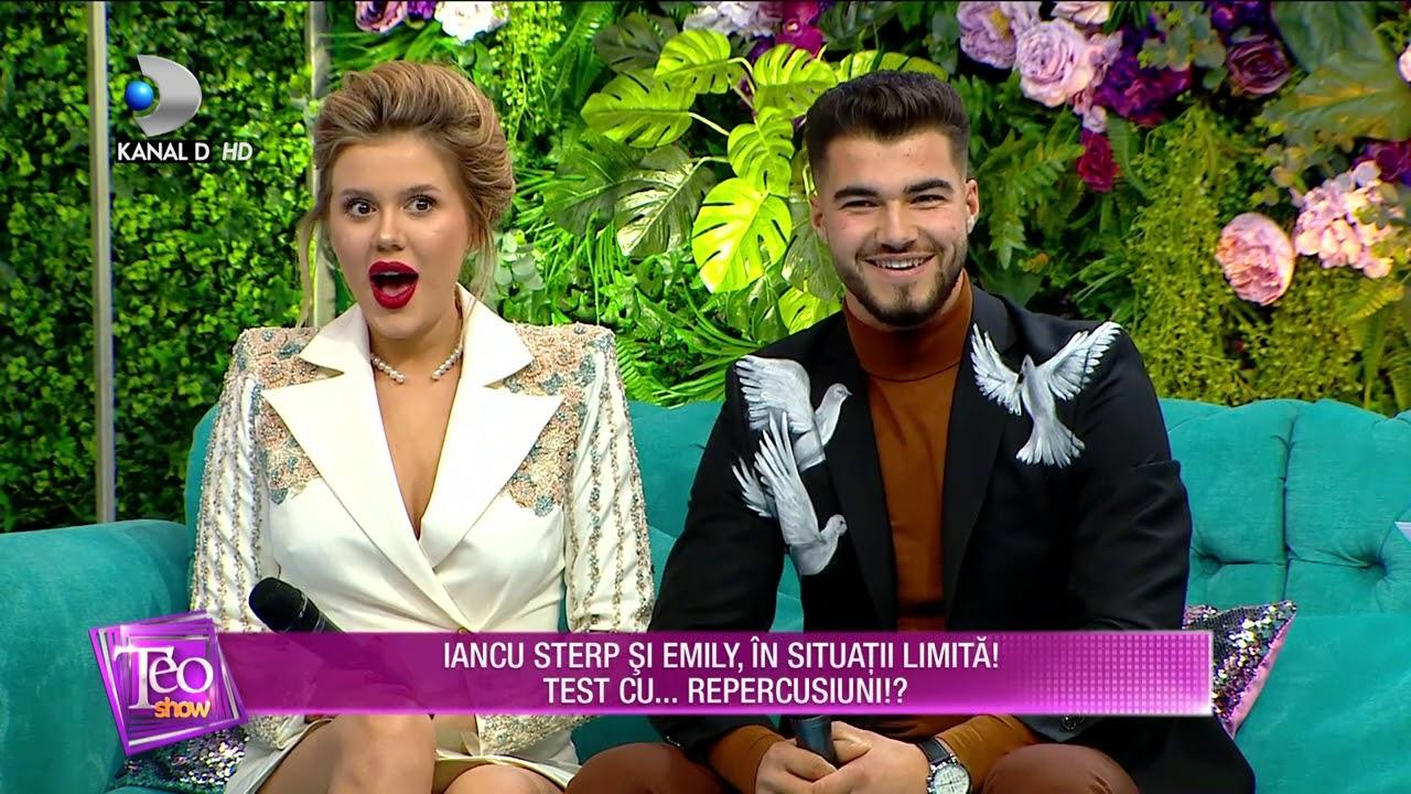 Teo Show (26.11.2020) - Iancu Sterp si Emily, in situatii limita! Test cu... repercusiuni!?