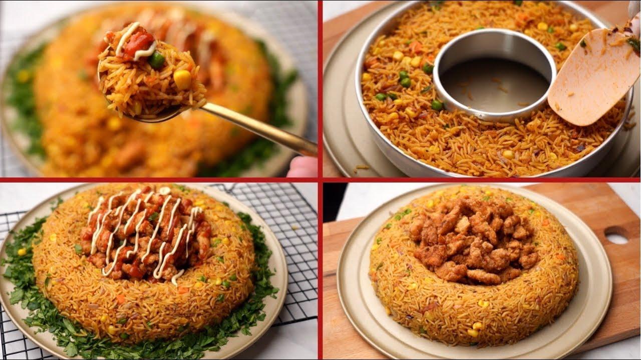 غداء المطاعم في البيت.. وجبة أرز مبهر ودجاج مقرمش بخلطة رهيبة لازم تجربوها!