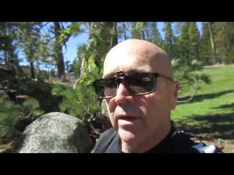 Hiking in Kyburz, California