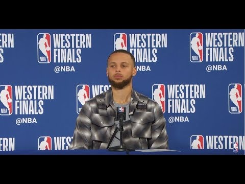 Stephen Curry Postgame Interview | Rockets vs Warriors Game 3