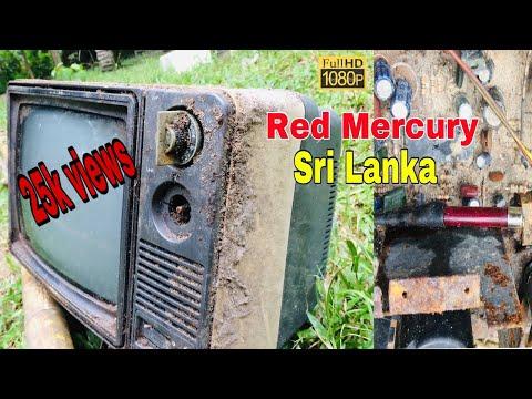 Red Mercury   Singer black and white Tv   Sri Lanka   Restoration   රතු රසදිය  6D Mark.