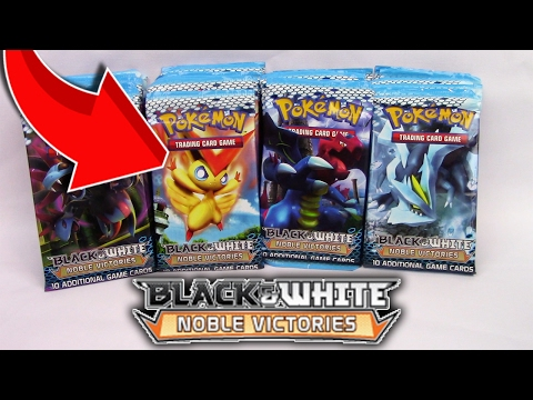 Noble Victories 36 Booster Pack Opening Full Art N Pokemon Card!