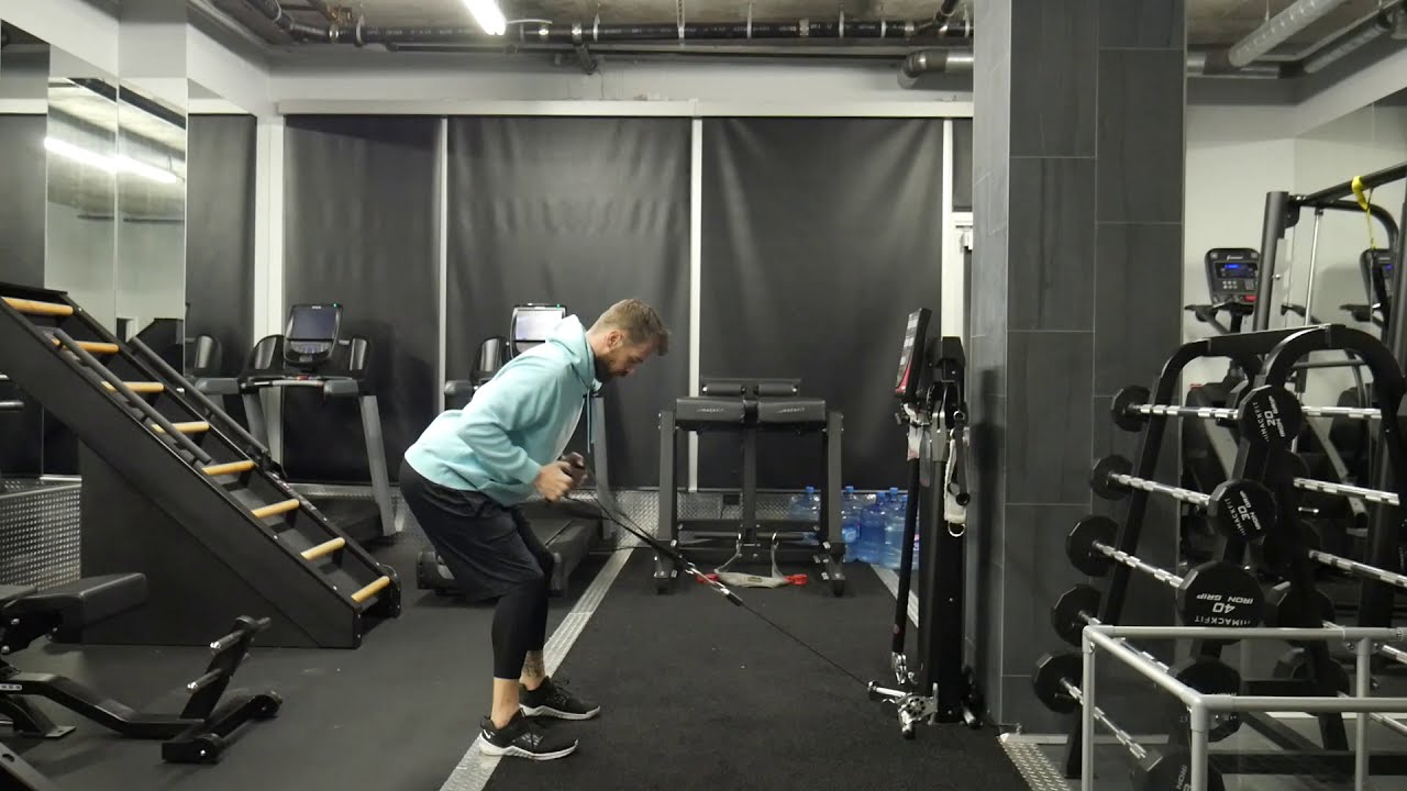 How to perform: Low cable row