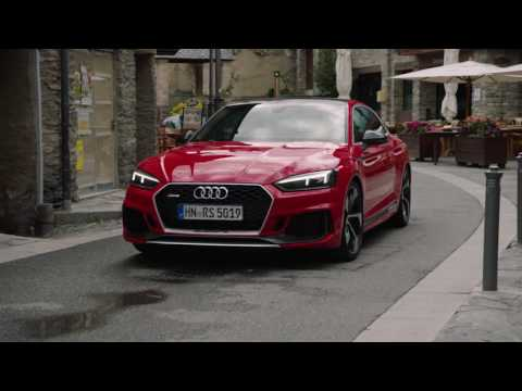 Audi RS 5 Coupe in Misano Red in Andorra | AutoMotoTV
