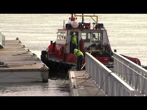 Marine Designs Dockmaster installation Barrow