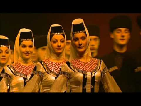 Ансамбль народного танца Грузии - Georgia Folk Dance