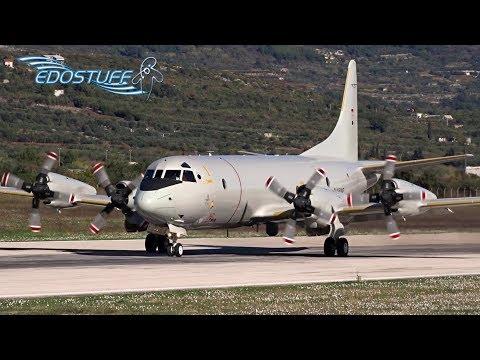 Lockheed P-3C Orion - Sunny Crosswind Takeoff - Split Airport SPU/LDSP