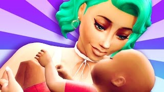 GONE INTO LABOR // The Sims 4: Not So Berry ~ Mint #10