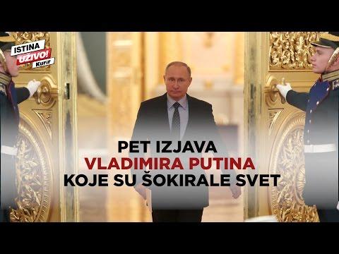 POGLEDAJTE: Putin vs