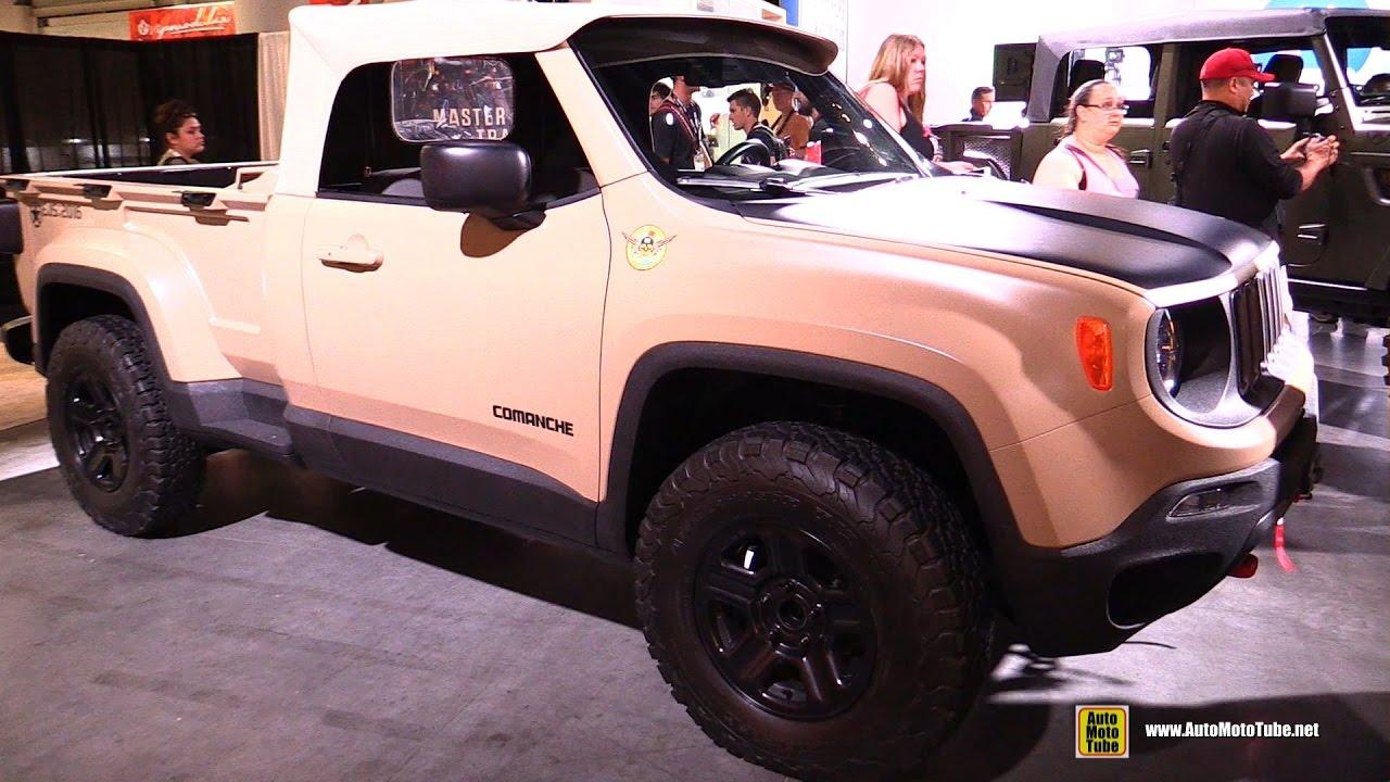 2016 Jeep Comanche >> Jeep Comanche Concept Exterior And Interior Walkaround 2016 Sema