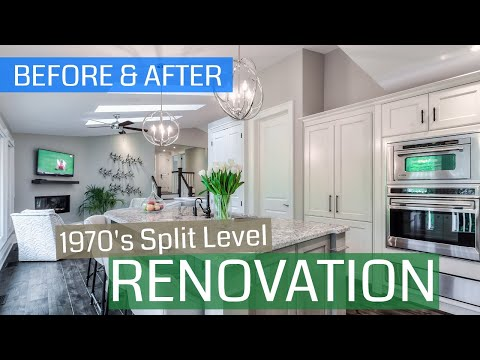 Before/After: 70's Split Level Renovation