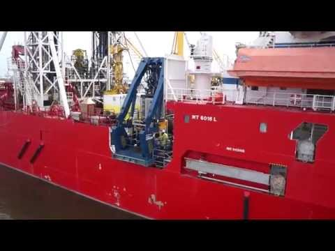 Delta SubSea on board the Fugro Synergy