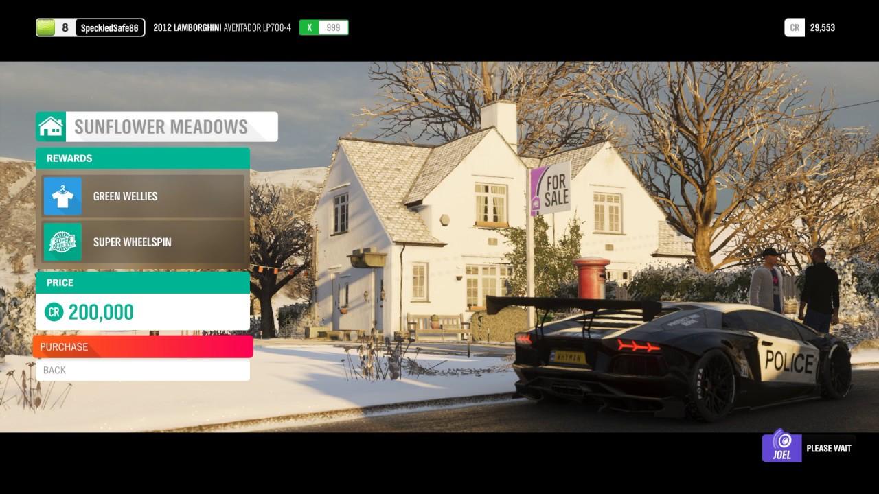 Forza Horizon 4: Location Of Houses (Plus Price And Reward)