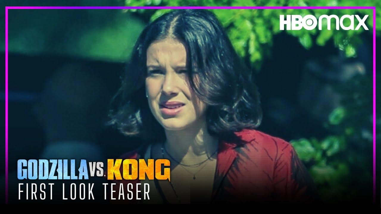 Godzilla Vs Kong 2021 First Look Teaser Hbo Max Youtube