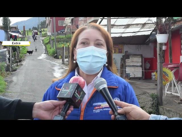 Gas domiciliario para familias de Cogua