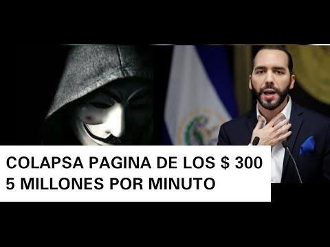 COLAPSA PAGINA DEL GOBIERNO 5 MILLONES ENTRARON EN 5 MINUTOS 200 MIL DEPOSITOS YA