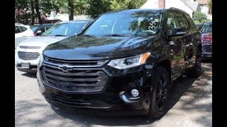 2018 Chevrolet Traverse Premier Full Tour & Start up (Manfredi Chevrolet)