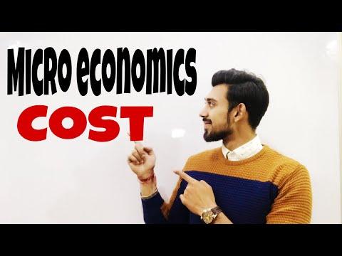 Cost   Economics   class - 11   class - 12