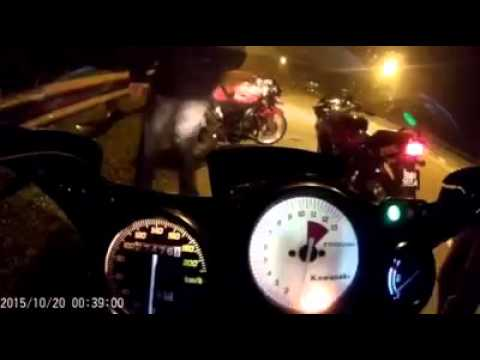 Kawasaki Ninja RR 150 top speed gila