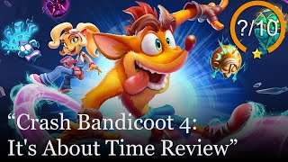 Crash Bandicoot 4: It's About Time Review [PS4 & Xbox One] (Video Game Video Review)