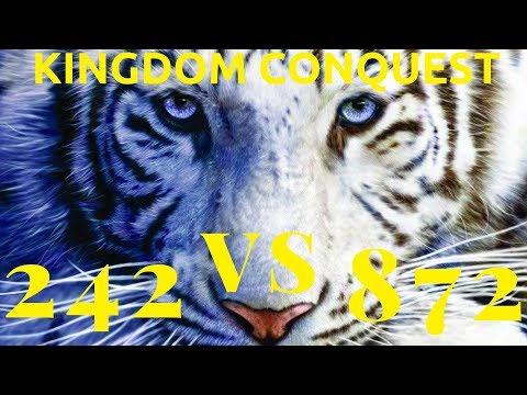 Kingdom Conquest 242 vs 872 The Disrespectful Kingdom  Clash of Kings  FXXX