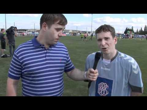 Gerard Kearns (SHAMELESS) Interview for iFILM LONDON / INDEE ROSE TRUST FOOTBALL EVENT 2011.
