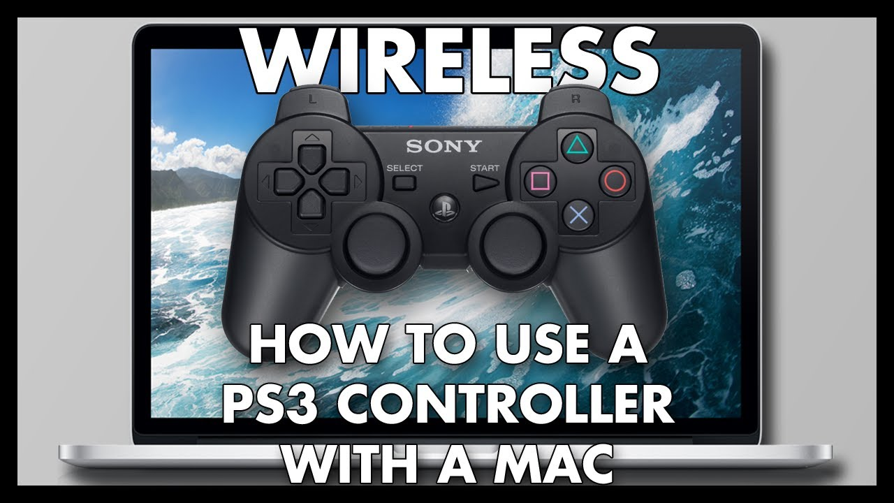 how to connect ps3 controller to mac