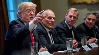 Trump Targets Iran Deal and Hints at War