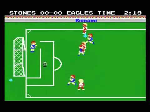 Gioco per MSX - Konami Soccer 1985 - www.glianni80.it