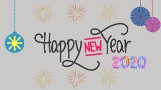 Happy New year 2020 WhatsApp status with countdown