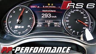 Audi RS6 Avant 750HP 0-293km/h ACCELERATION PP Performance by AutoTopNL